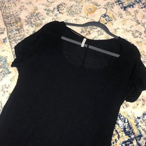 Emma & Sam Black Cut Out T Shirt